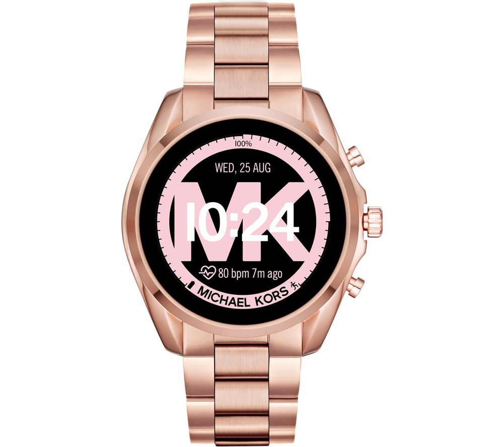 Image of MICHAEL KORS Access Bradshaw 2 MKT5086 Smartwatch - 44 mm, Rose Gold, Gold