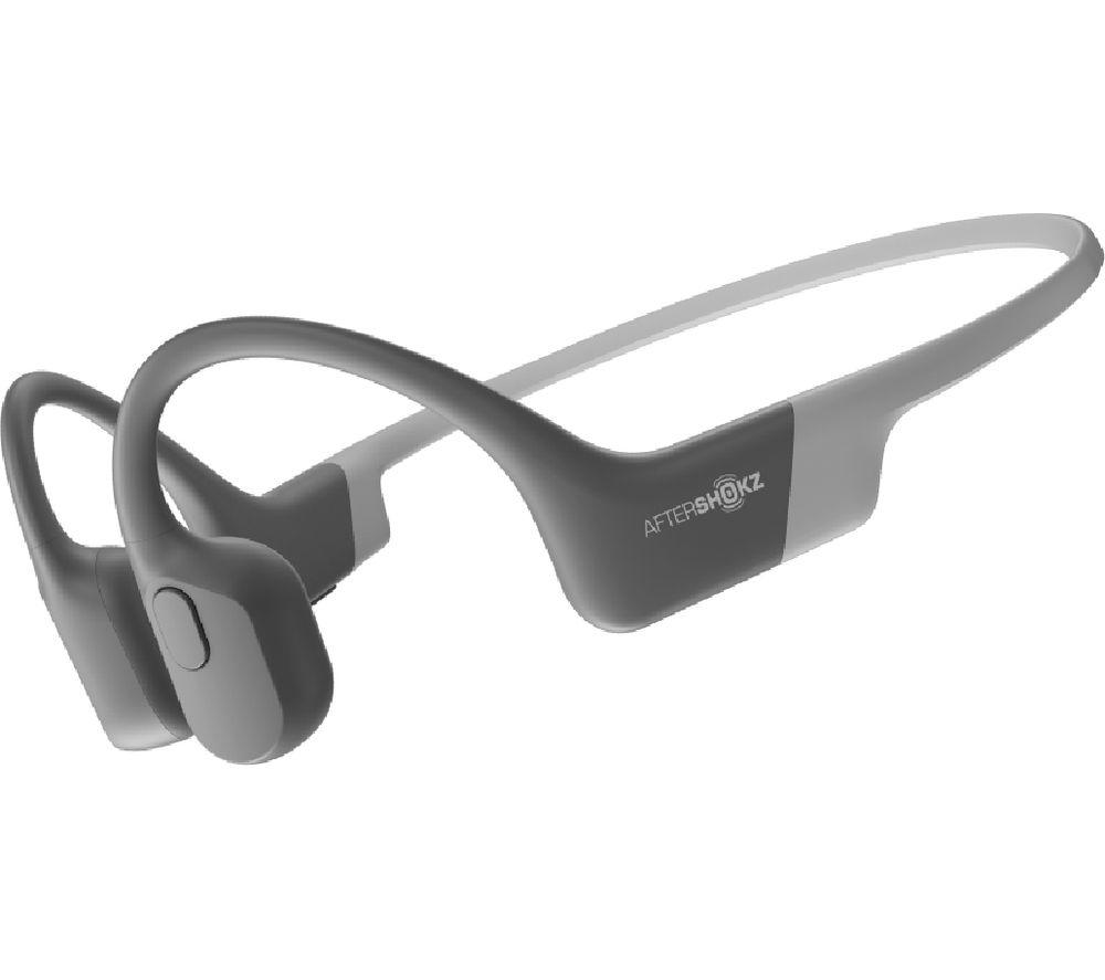 Image of AFTERSHOKZ Aeropex Wireless Bluetooth Headphones - Grey, Grey