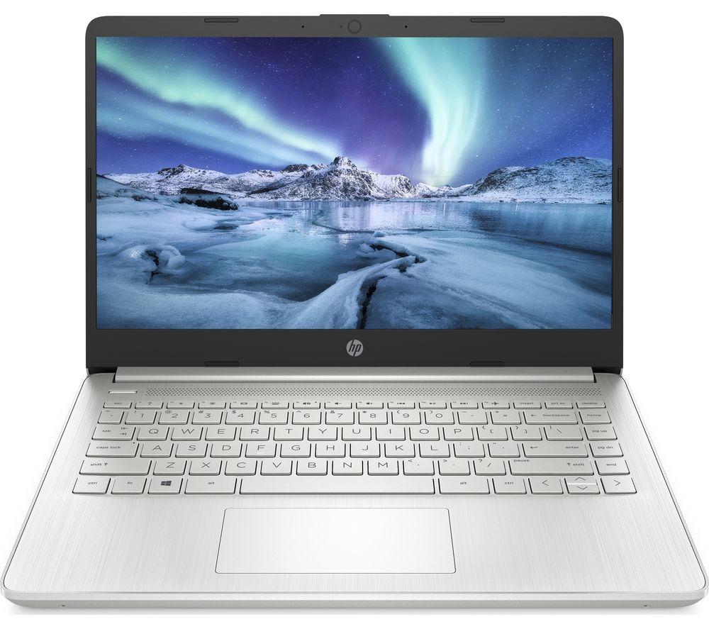 Buy Hp 14s Dq1505sa 14 Laptop Intel Core I7 512 Gb Ssd Silver Free Delivery Currys