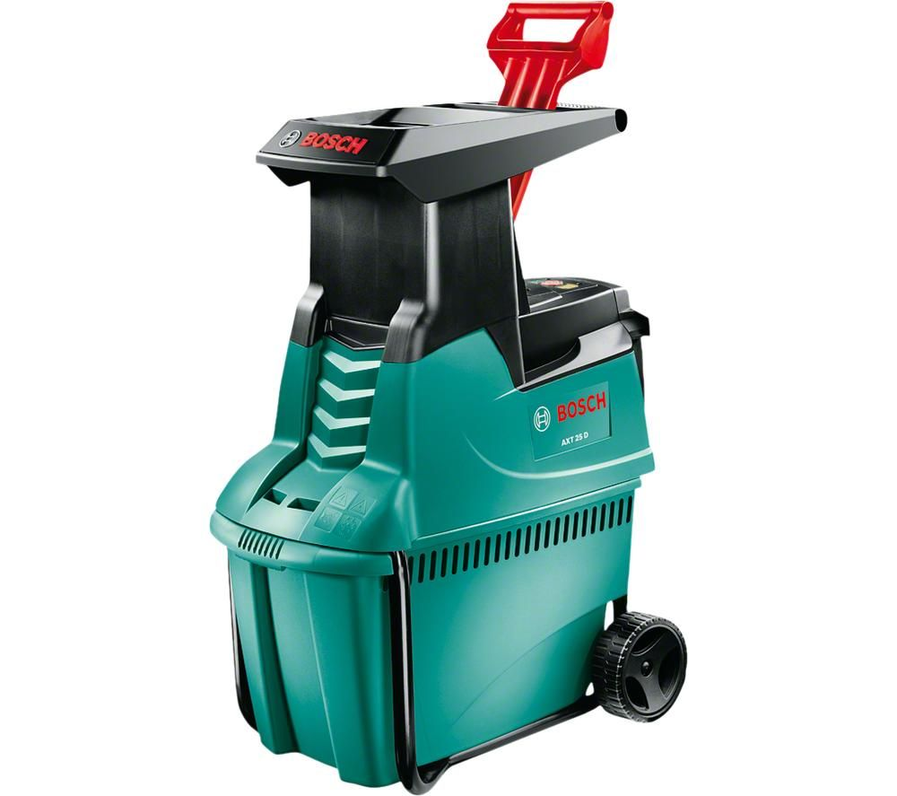AXT 25 D Garden Shredder - Green & Black, Green