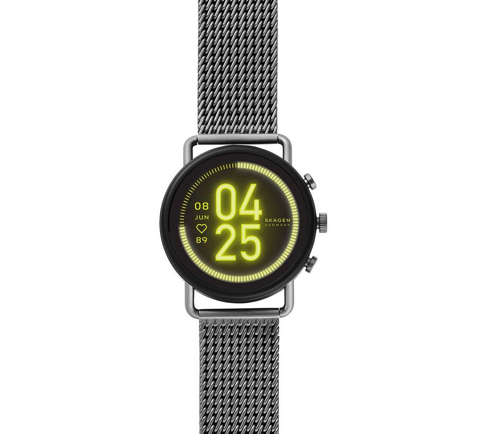 Image of SKAGEN Falster 3 SKT5200 Smartwatch - Gunmetal, Mesh Strap, 42 mm