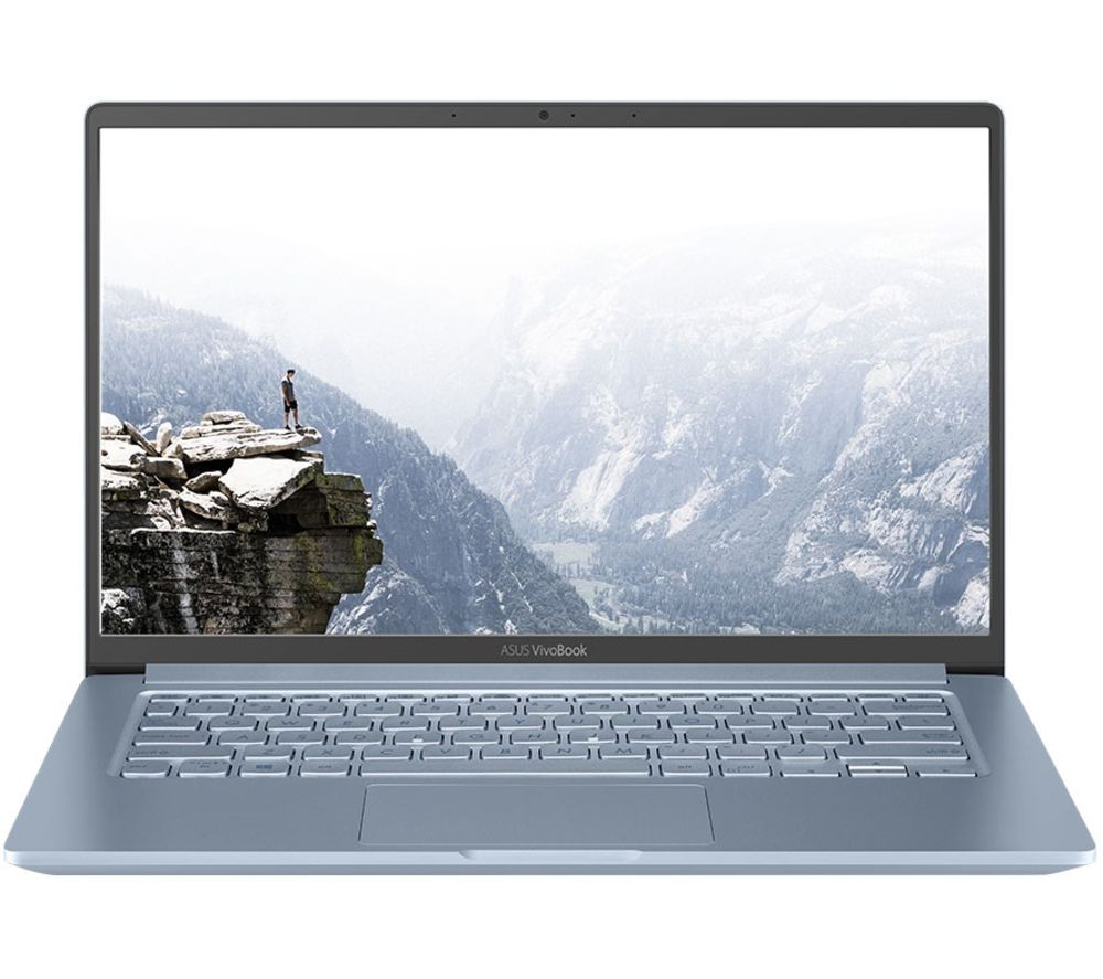 "Image of ASUS VivoBook K403FA 14"" Laptop - Intelu0026regCore™ i7, 256 GB SSD, Silver Blue, Silver"