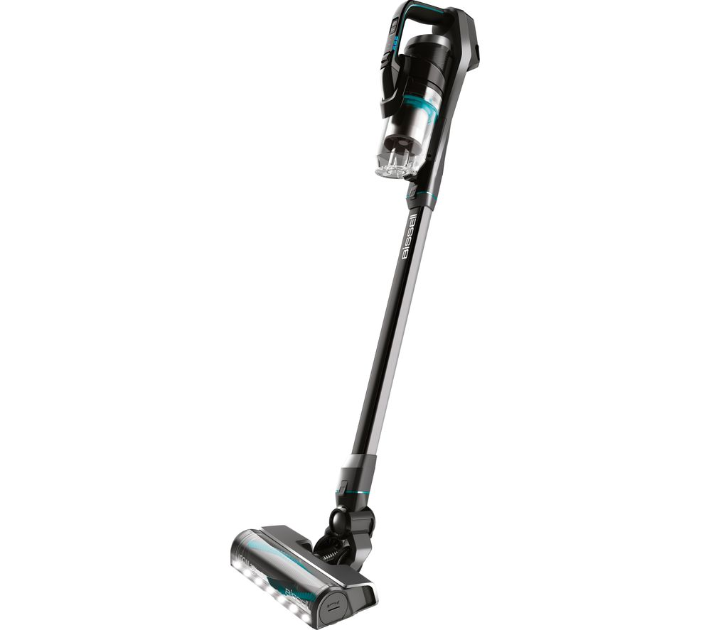Image of BISSELL Icon Cordless Vacuum Cleaner - Black & Blue, Black