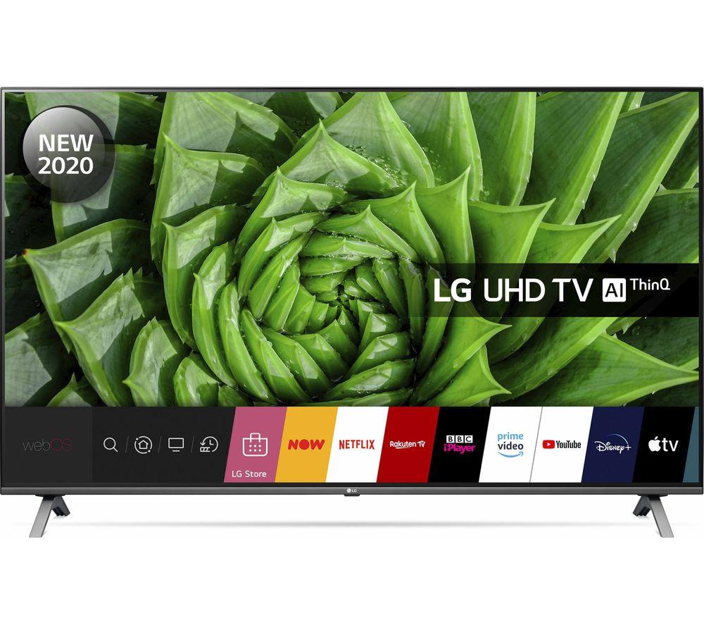 """LG 65UN80006LA 65"""" Smart 4K Ultra HD HDR LED TV with Google Assistant & Amazon Alexa"""