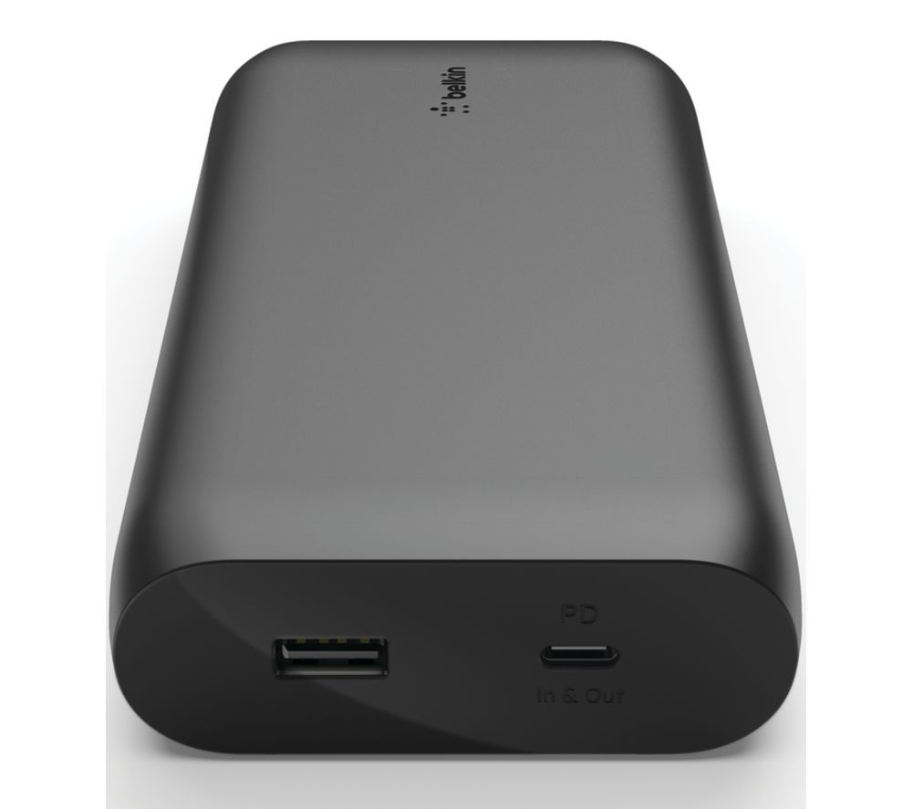 BELKIN 20K 30W BPB002BTBK Portable Power Bank - Black