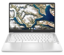 "14a-na0502sa  14"" Chromebook - Intel® Pentium® Silver, 128 GB eMMC, White"
