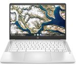 £399, HP 14a 14inch Chromebook - Intel® Pentium® Silver, 128 GB eMMC, White, Chrome OS, Intel® Pentium® Silver N5000 processor, RAM: 8GB / Storage: 128GB eMMC, Full HD screen, Battery life:Up to 11.5 hours,