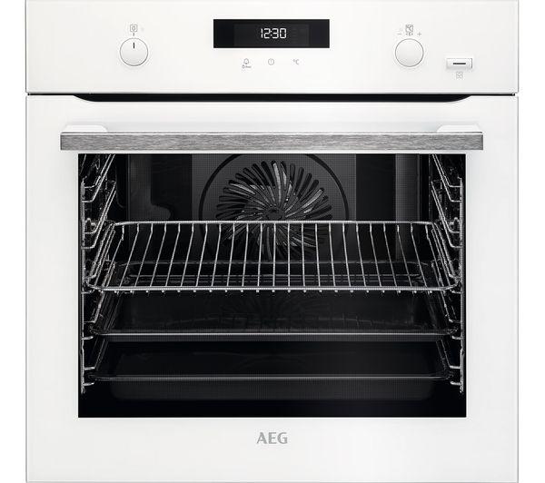 AEG SteamBake BPS555020W Electric Steam Oven - White
