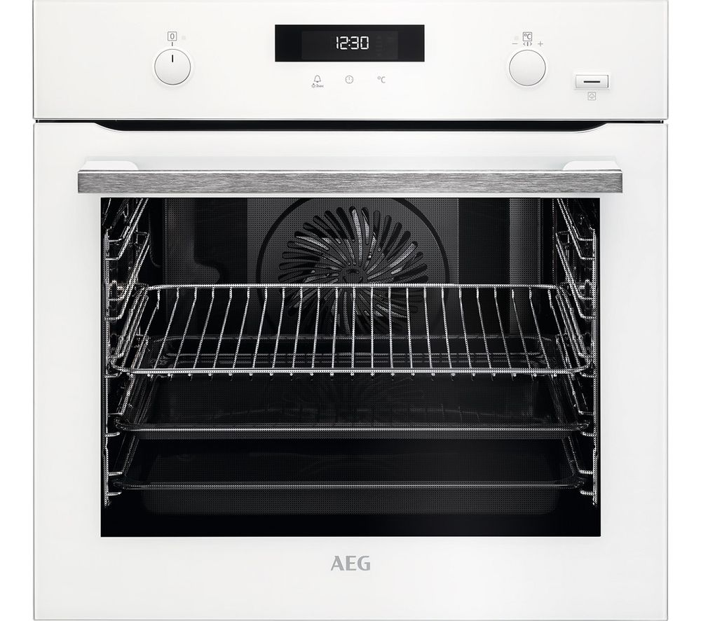 AEG SteamBake BPS555020W Electric Steam Oven – White, White