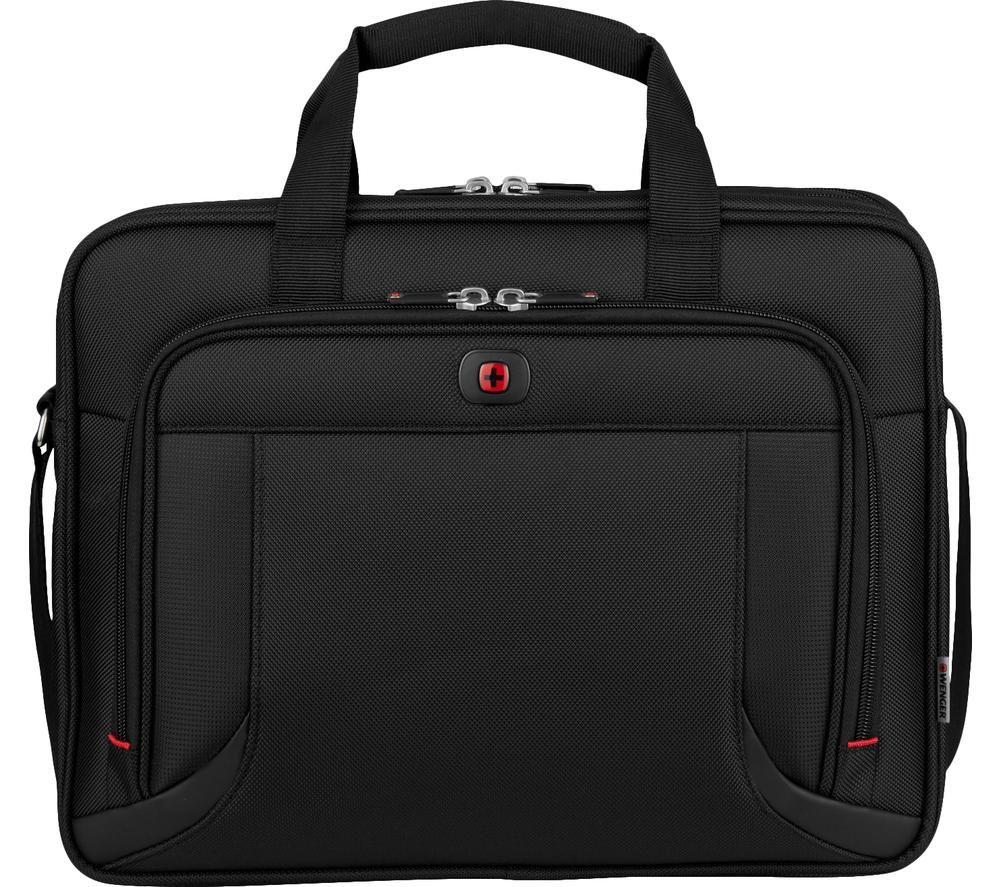 """WENGER Prospectus 16"""" Laptop Case - Black"""