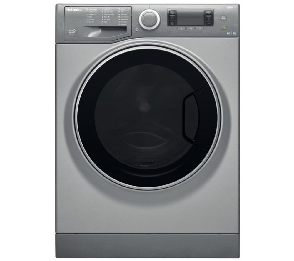 HOTPOINT Ultima S-Line RD 966 JGD UK N 9 kg Washer Dryer - Graphite