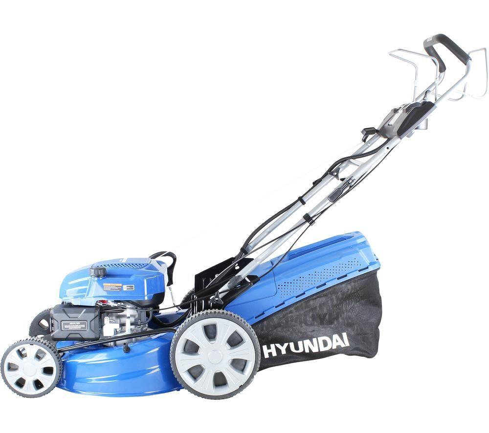 HYUNDAI HYM530SPE Cordless Rotary Lawn Mower - Blue