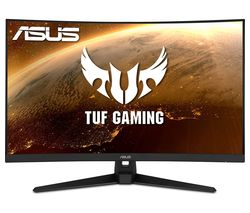"TUF VG328H1B Full HD 31.5"" Curved VA LCD Gaming Monitor - Black"