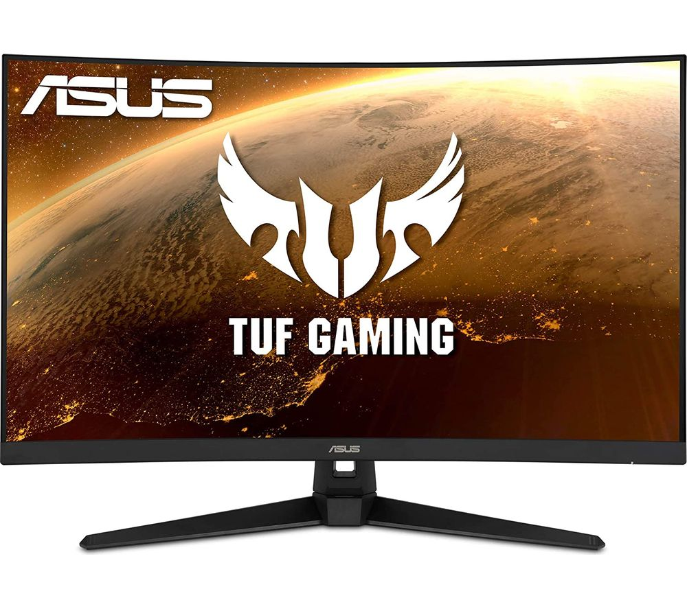 "Image of ASUS TUF VG328H1B Full HD 31.5"" Curved VA LCD Gaming Monitor - Black, Black"