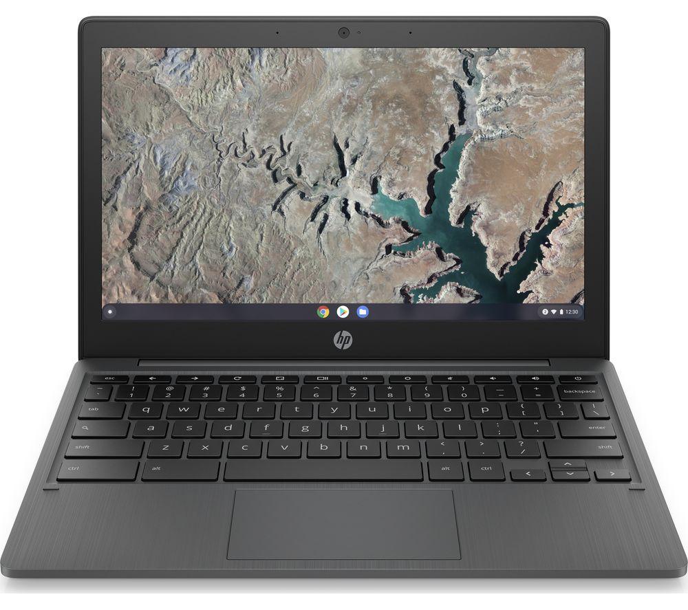 "HP 11a 11.6"" Chromebook - MediaTek MT8183, 32 GB eMMC, Grey"