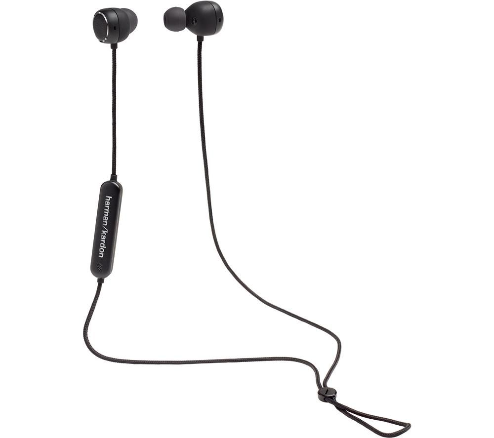 HARMAN KARDON Fly BT HKFLYBTBLK Wireless Bluetooth Earphones - Black