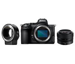 Z 5 Mirrorless Camera with NIKKOR Z 24-50 mm f/4-6.3 Lens & FTZ Mount Adapter - Black