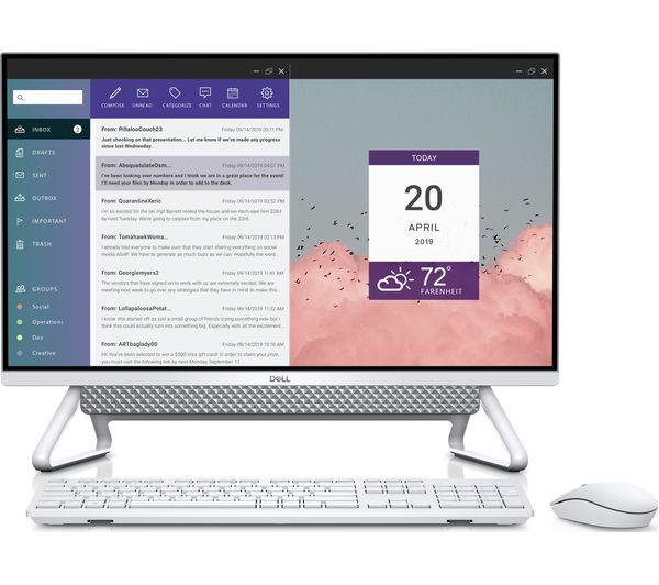 "Image of DELL Inspiron AIO 7700 27"" All-in-One PC - Intel® Core™ i5, 512 GB SSD, Silver"