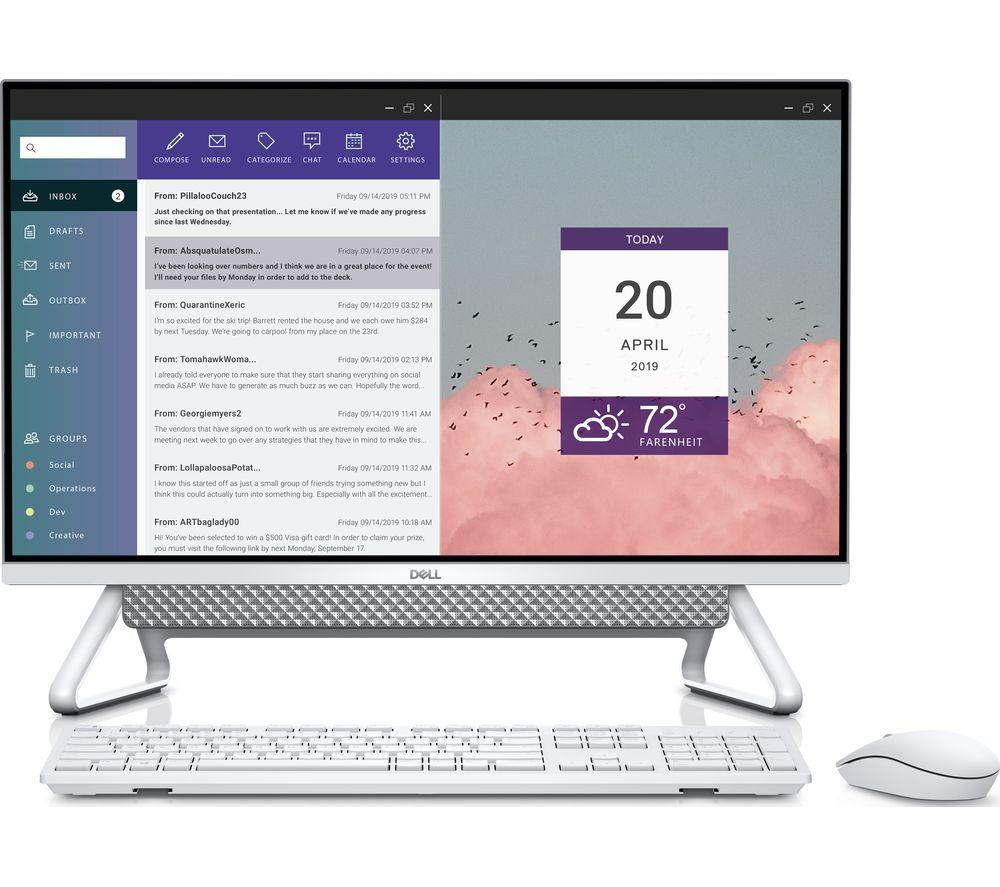 """DELL Inspiron AIO 7700 27"""" All-in-One PC - Intel® Core™ i5, 512 GB SSD, Silver"""
