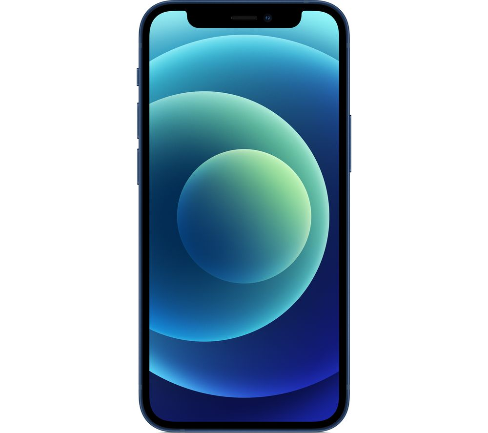 Image of APPLE iPhone 12 Mini - 256 GB, Blue, Blue