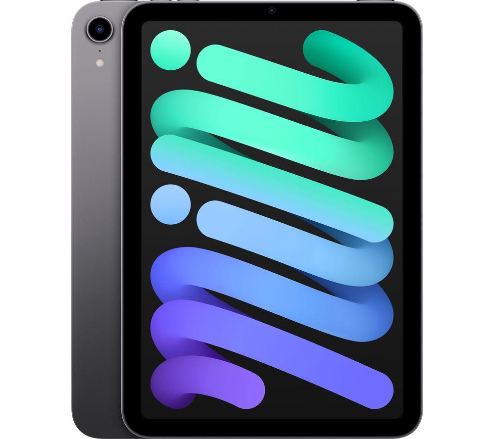 """APPLE 8.3"""" iPad mini (2021) - 64 GB, Space Grey"""