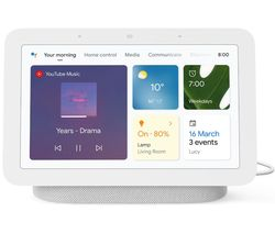 Nest Hub (2nd Gen) Smart Display with Google Assistant - Chalk