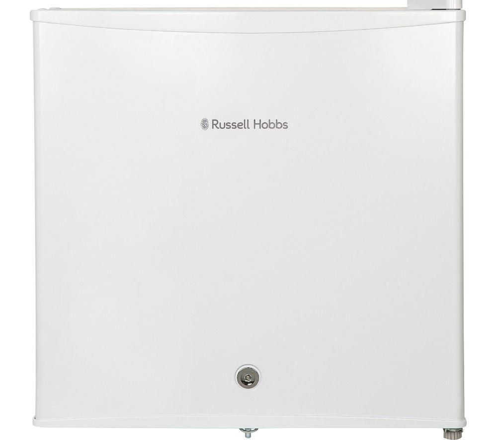 RUSSELL HOBBS RHTTLF1-LCK Mini Fridge - White, White