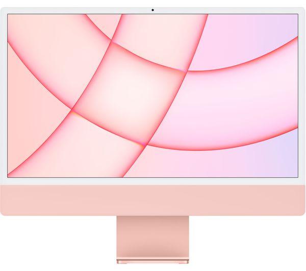 "Image of APPLE iMac 4.5K 24"" (2021) - M1, 512 GB SSD, Pink"