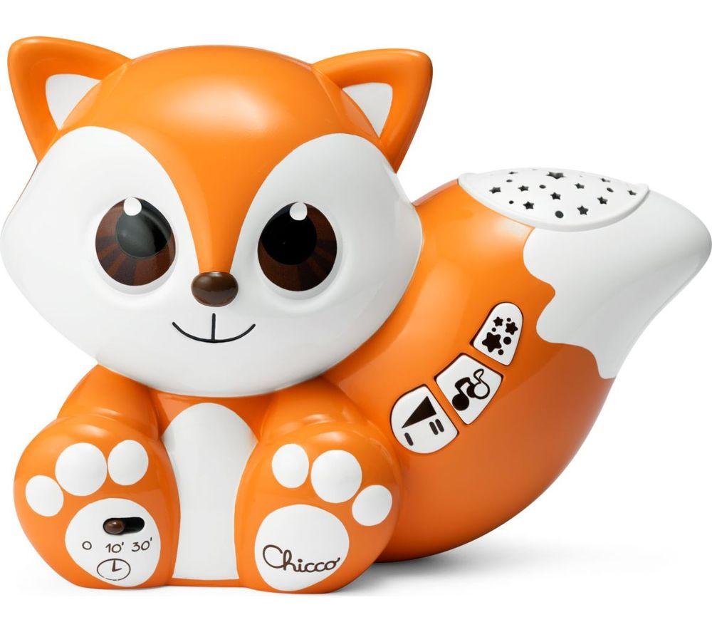 CHICCO Foxy Colourful Projection - Orange & White