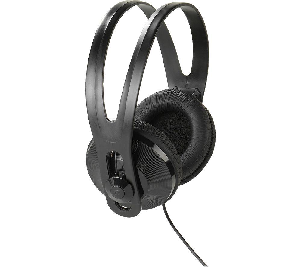 VIVANCO Stereo 97 TV Headphones - Black