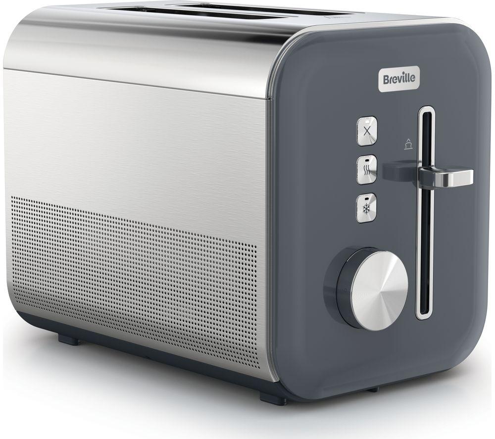 BREVILLE High Gloss VTT968 2-Slice Toaster - Grey