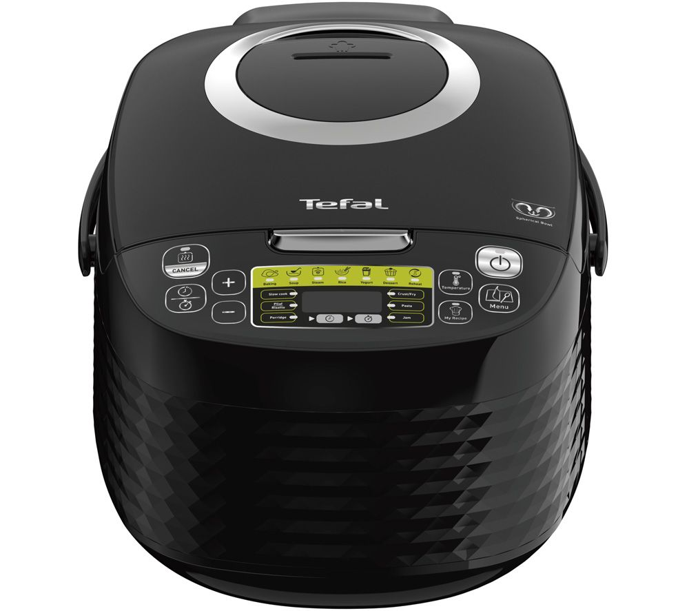 TEFAL SpheriCook RK745840 Multicooker - Black