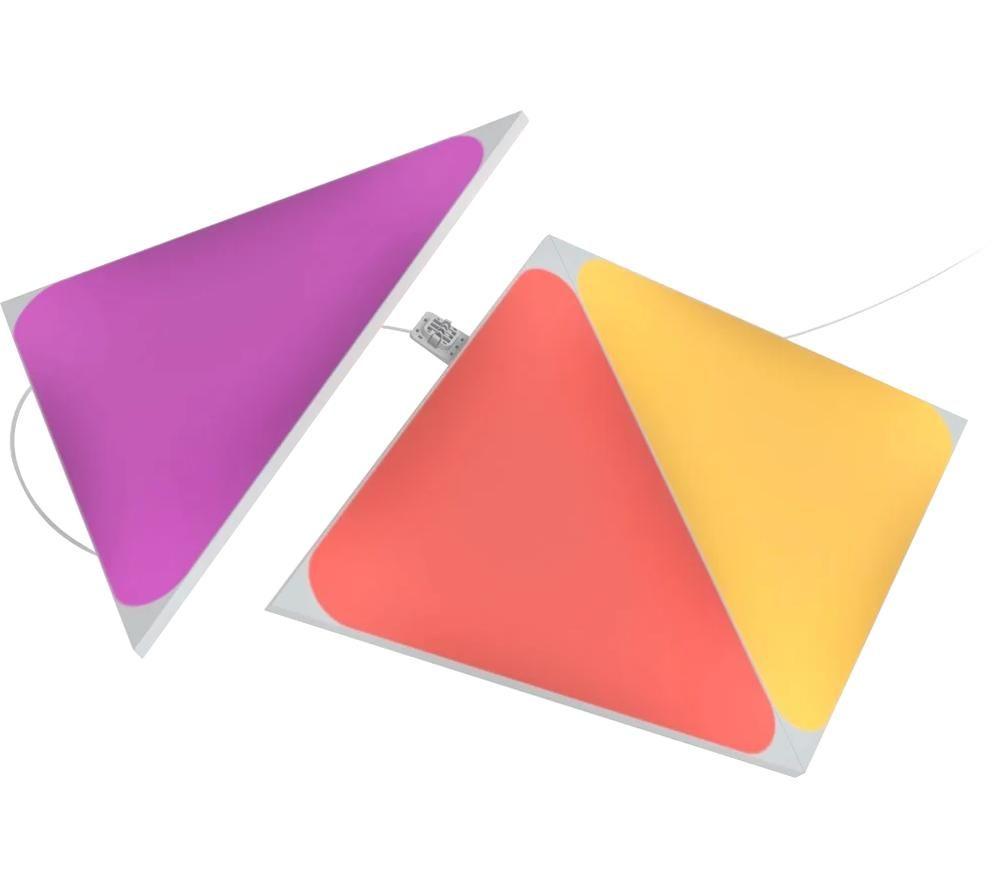 NANOLEAF Shapes Triangle Smart Lights Expansion - Pack of 3
