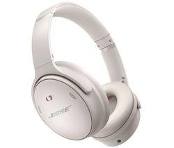 QuietComfort 45 Wireless Bluetooth Noise-Cancelling Headphones - White Smoke