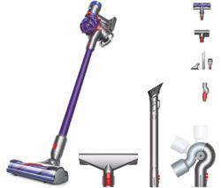 V7 Animal Cordless Vacuum Cleaner & QR Complete Cleaning Kit Bundle - Purple