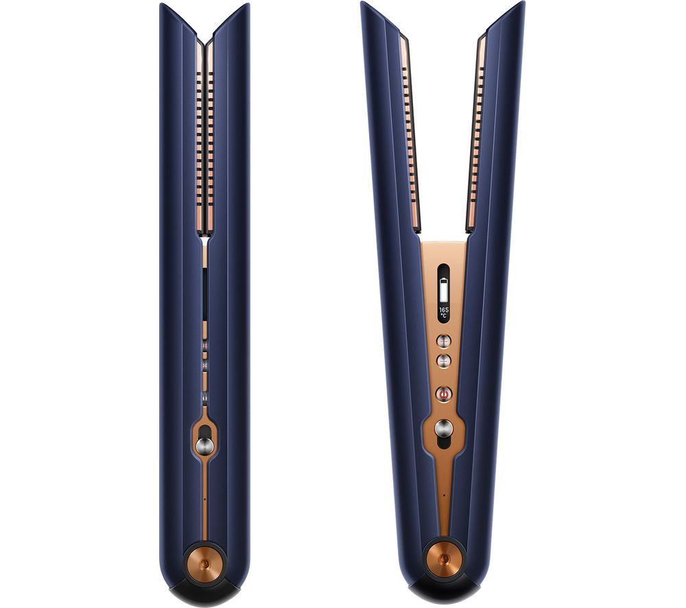 DYSON Corrale Special Edition Hair Straightener - Prussian Blue & Copper, Blue