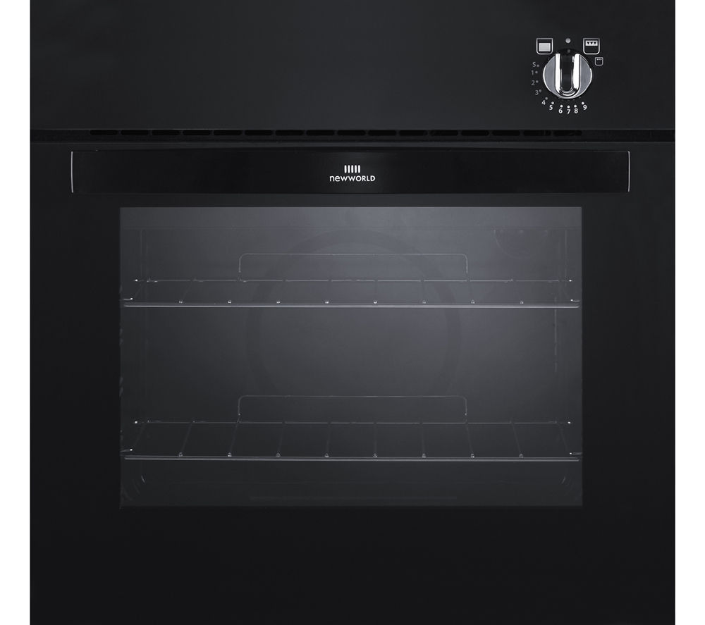 NEW WORLD NW601G Gas Oven - Black