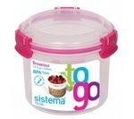 SISTEMA Round 0.53-litre Breakfast to Go Pot
