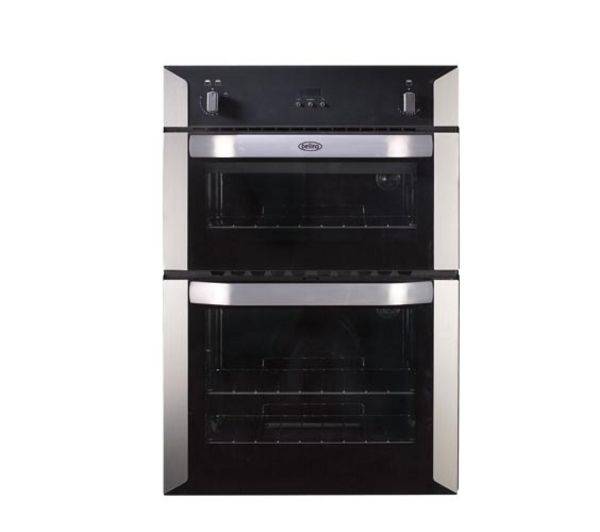 BELLING BI90G Gas Double Oven - Stainless Steel