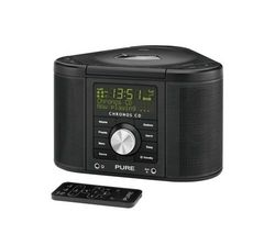 PURE Chronos CD Series II DAB/FM Radio - Black