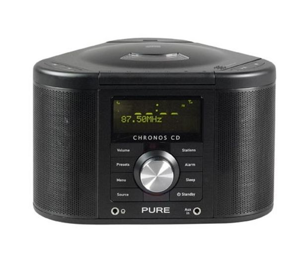 buy pure chronos cd series ii dab fm radio black free. Black Bedroom Furniture Sets. Home Design Ideas