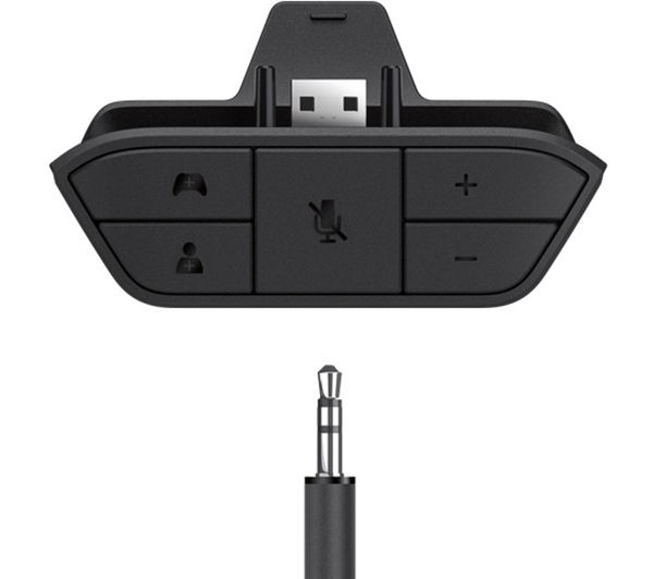 Xbox one stereo headset with adapter