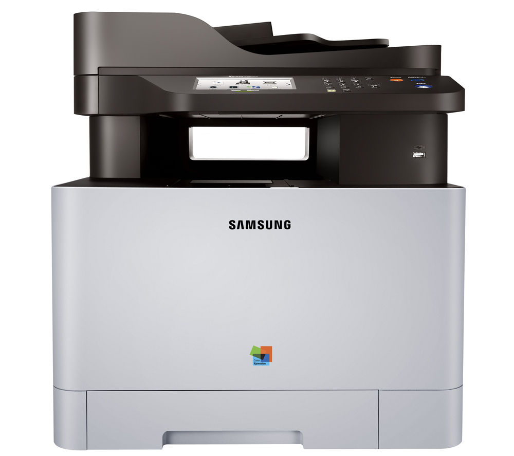 SAMSUNG C1860FW All-in-One Wireless Laser Printer with Fax + K504S Black Toner Cartridge