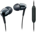 PHILIPS SHE3905 Headphones - Black