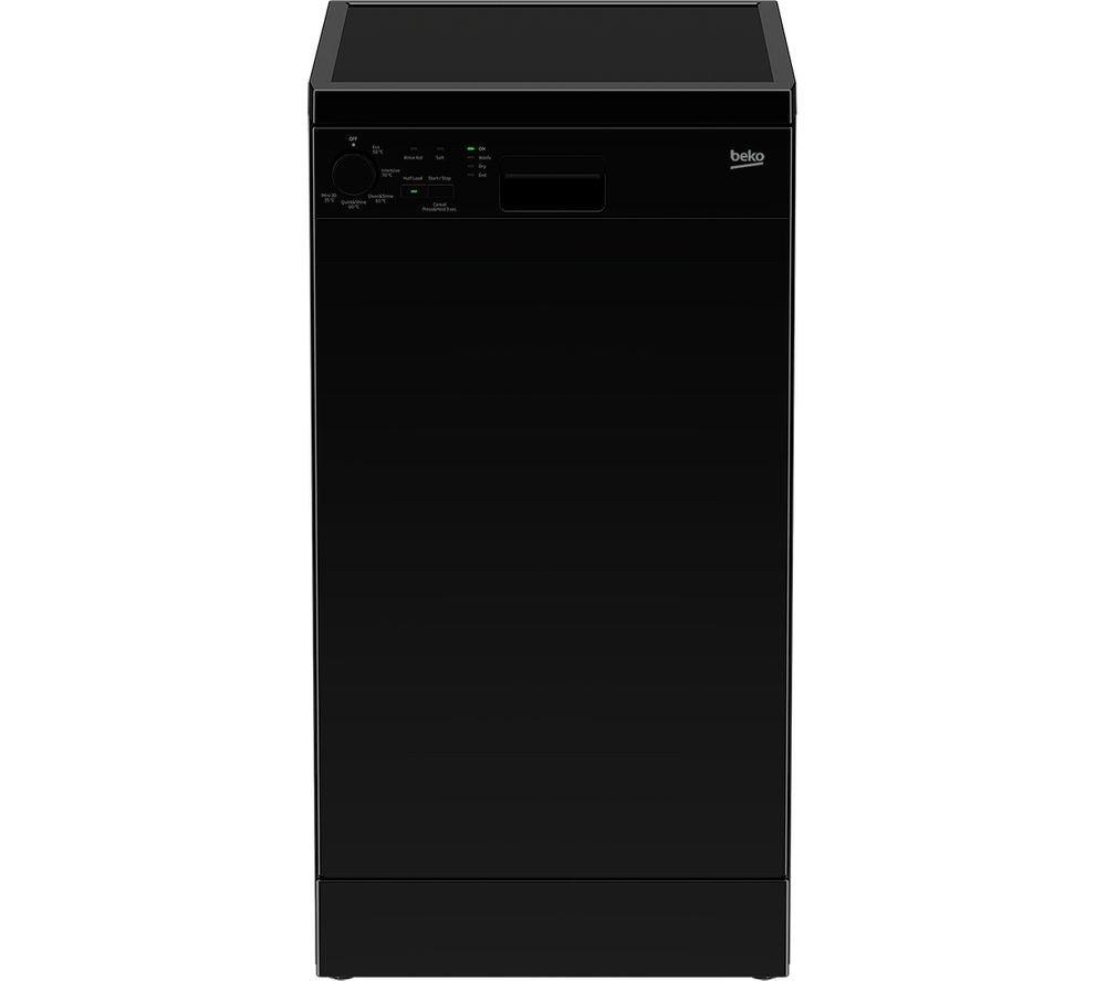 BEKO DFS05010B Slimline Dishwasher - Black