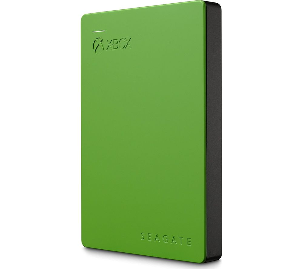 SEAGATE Gaming Portable Hard Drive for Xbox - 2 TB, Green