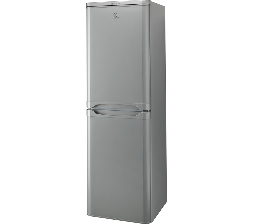 INDESIT CAA55S 60/40 Fridge Freezer - Silver
