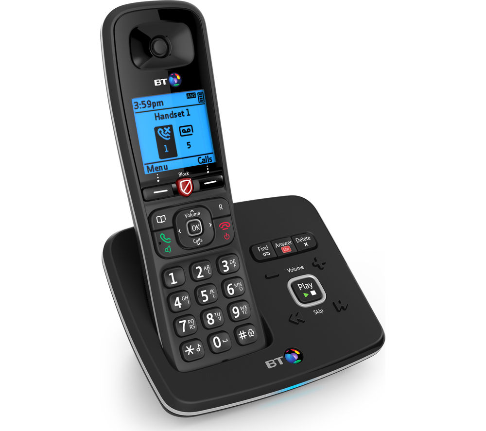 Image of BT 6610 Cordless Phone with Answering Machine