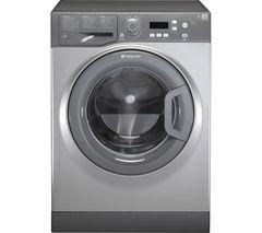 HOTPOINT Aquarius WMAQF641G Washing Machine - Graphite