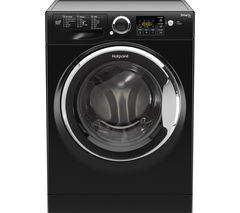 HOTPOINT Smart+ RSG 964 JKX Washing Machine - Black